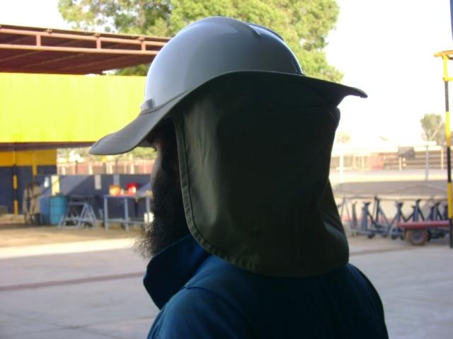 Hard Hat - Sun Rays Protector1
