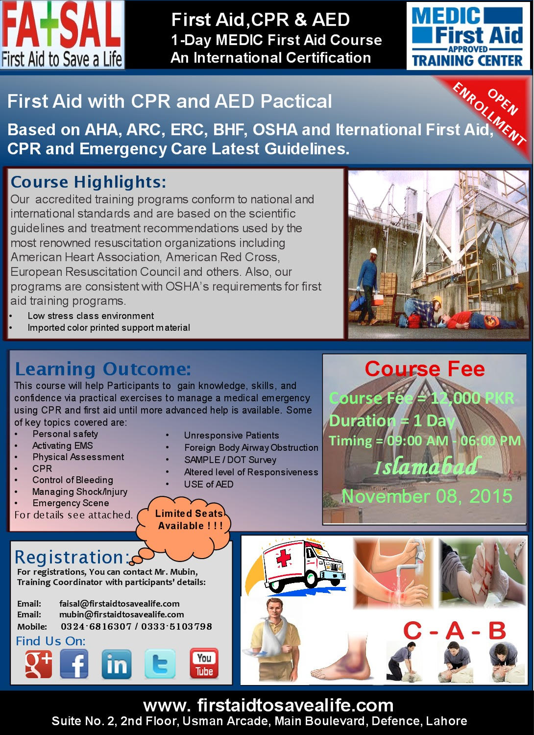 First Aid Cpr Aed International Certification Course Your