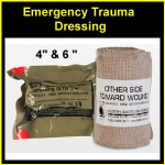 4 Emergency ETD Dressings