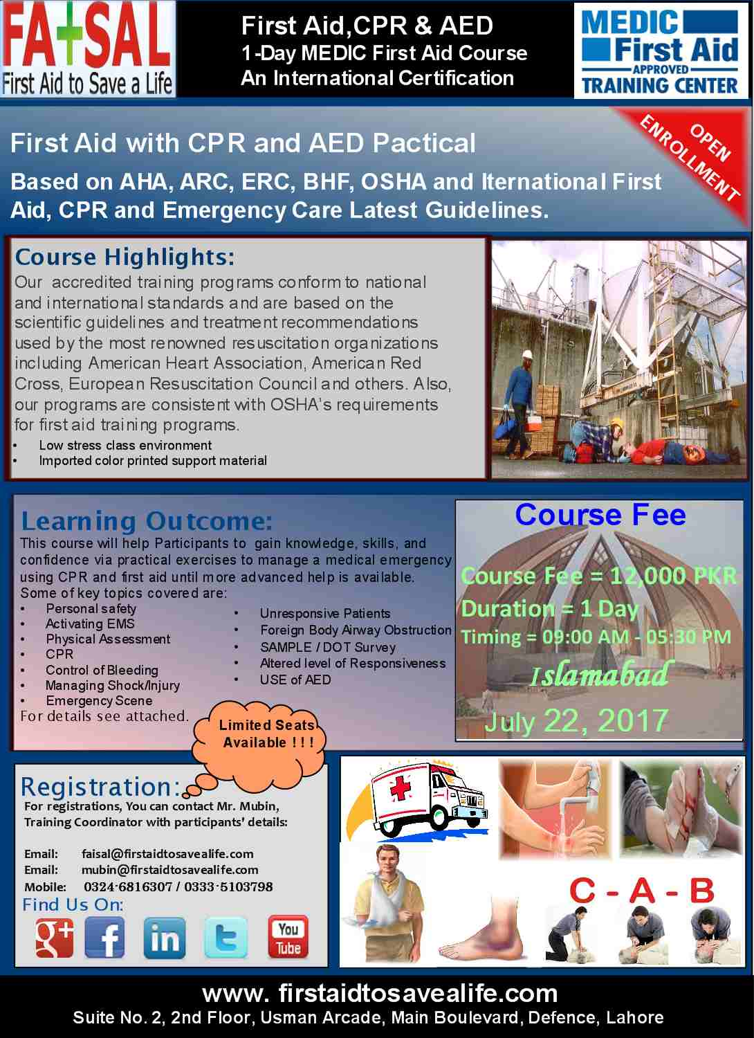 First Aid Cpr Aed Medic First Aid International Certification