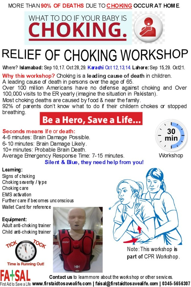 Relief of Choking Workshop