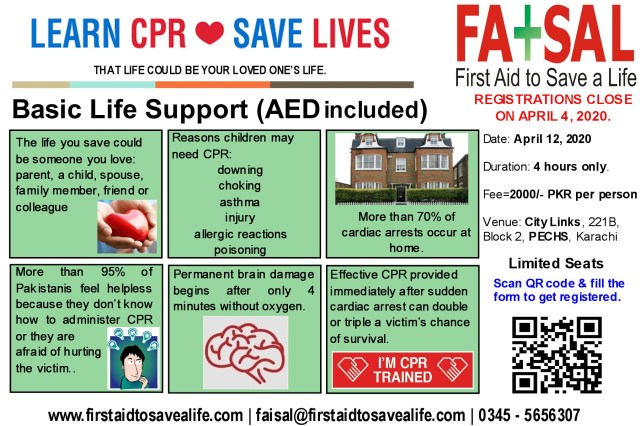 Karachi BLS Flyer - April 12